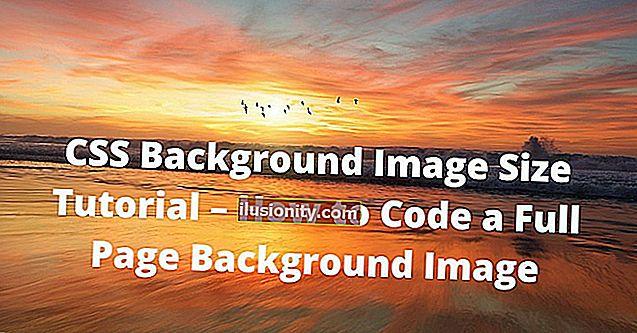 Tutorial Ukuran Imej Latar Belakang CSS - Cara Mengekod Gambar Latar Belakang Halaman Penuh