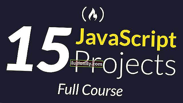 Tingkatkan kemahiran JavaScript anda dengan membina 15 projek ini