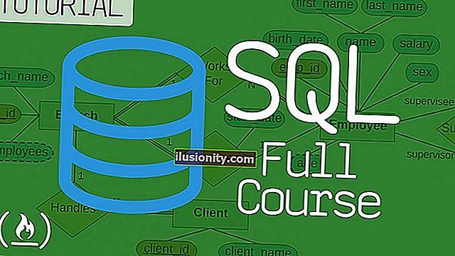 SQL dan Pangkalan Data - Kursus Penuh untuk Pemula