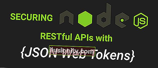 Menjamin API Node.js RESTful dengan Token Web JSON