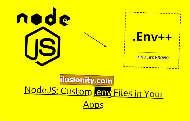 Cara menyesuaikan fail Node.js .env untuk tahap persekitaran yang berbeza