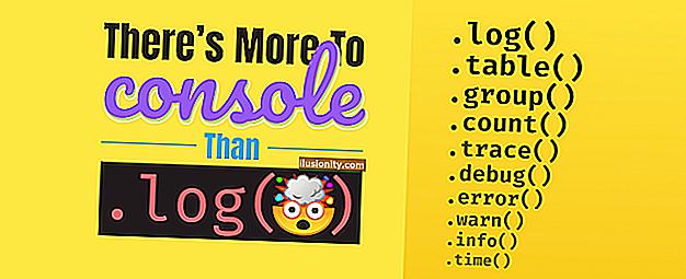 Console JavaScript.log () Contoh - Cara Mencetak ke Konsol di JS