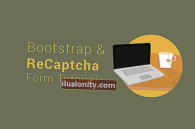 30 dakikada ReCaptcha ve PHP ile bir Bootstrap e-posta formu oluşturma