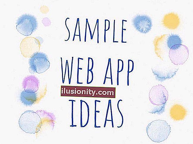 Ingin membina sesuatu yang menyeronokkan? Berikut adalah senarai idea idea aplikasi web.