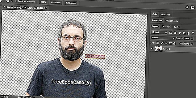 Gumica za pozadinu - Kako ukloniti pozadinu u Photoshop CC-u