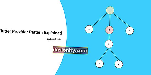 Cómo usar el patrón de proveedor en Flutter