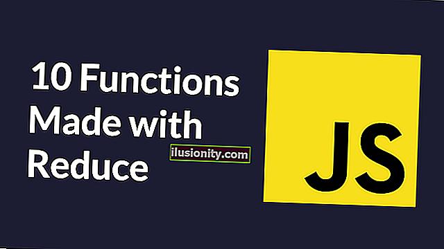 10 Fungsi Utiliti JavaScript Dibuat dengan Mengurangkan