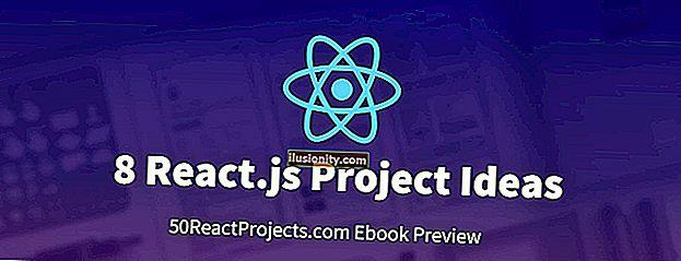 8 React.js projektnih ideja koje će vam pomoći da započnete s učenjem