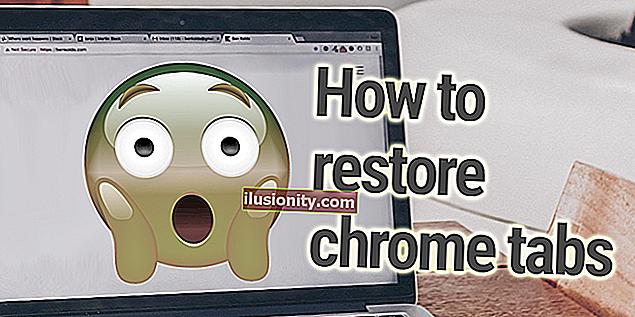 Cómo restaurar pestañas en Chrome: restaure su última sesión y páginas